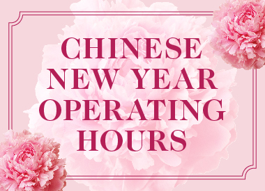 Chinese New Year 2021<br>Store Operating Hours