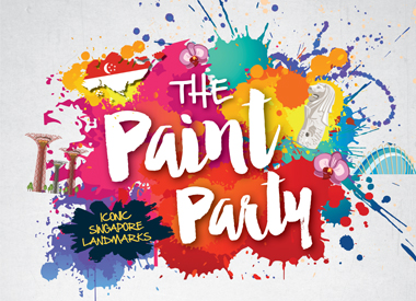 The Paint Party – Iconic Singapore Landmarks
