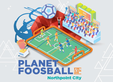 Planet Foosball at Northpoint City