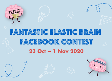 Fantastic Elastic Brain Facebook Contest