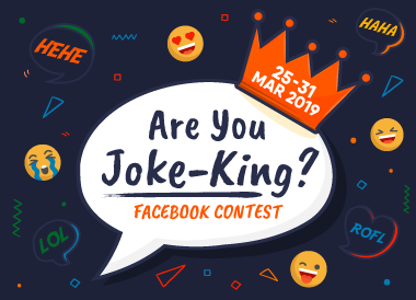 Are You Joke-King? Facebook Contest
