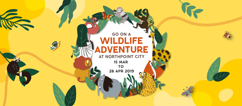 Go on a Wildlife Adventure at Northpoint City