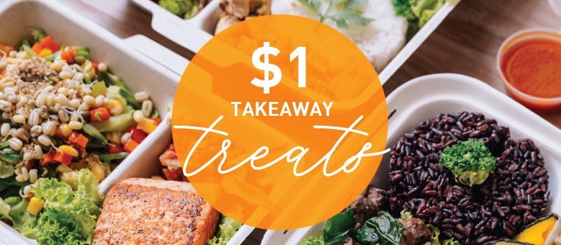 Less is More With These $1 Takeaway Treats