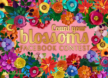 Count Your Blossoms Facebook Contest