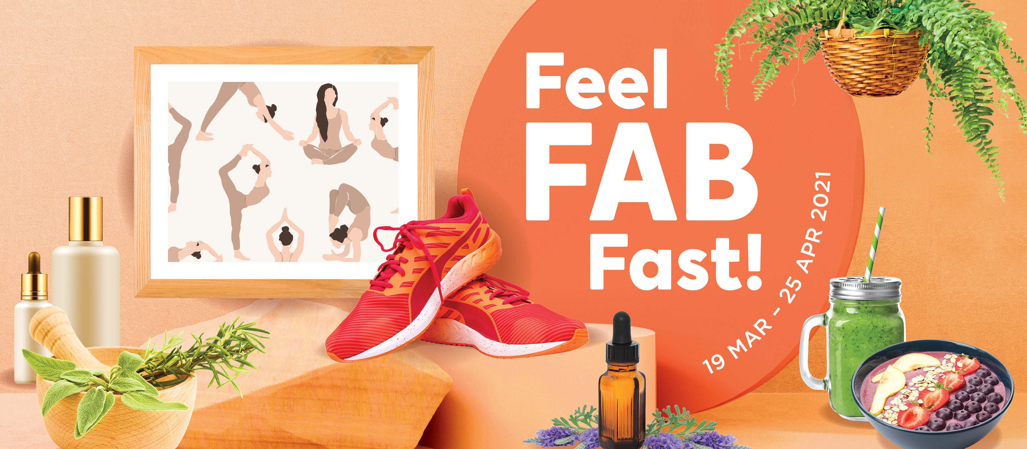 Feel FAB Fast at Northpoint City!